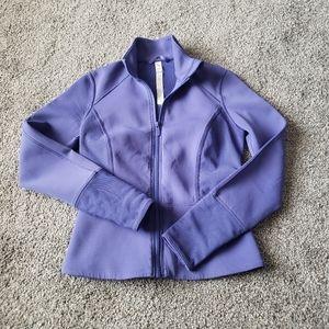Lululemon Purple Peplum Jacket, size 6